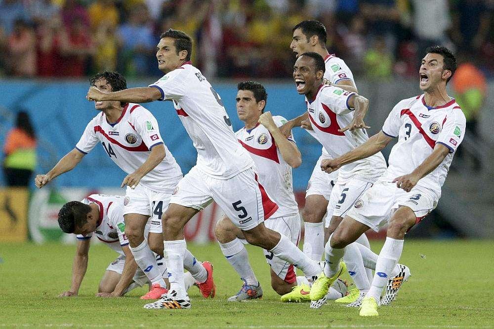 Costa Rica beat Greece 5-3 on penalties, reach quarterfinals