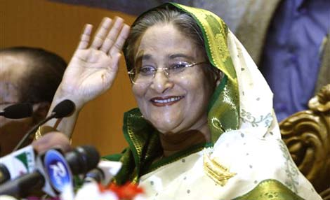 Sheikh Hasina Wajed - Bangladesh premier Sheikh_hasina_20081231